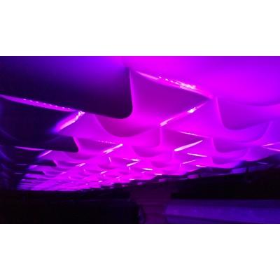دیوار پوش سه بعدی اسپیلاین- پروژه گلسار رشت