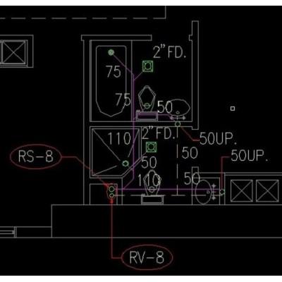 طراحی سیستم فاضلابی پوش فیت و پلی اتیلن