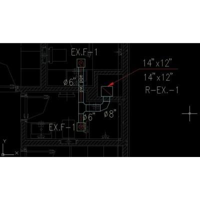 طراحی کانال کشی اگزاست و هوای تازه