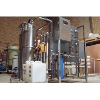 آبشیرین کن شرکت داروسازی کیمیدارو به ظرفیت 10