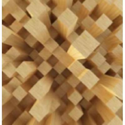 پوستر دیواری سه بعدی طرح چوب