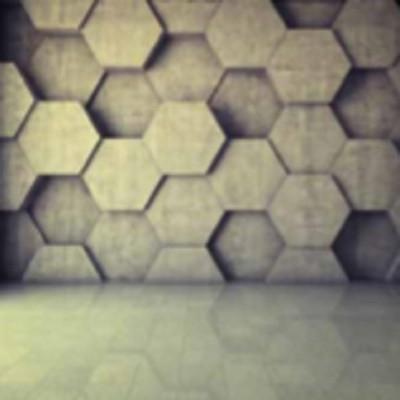 پوستر دیواری سه بعدی طرح سنگی