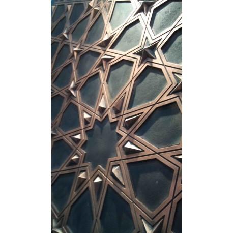 دیوارپوش اسلیمی- طرح شمسه