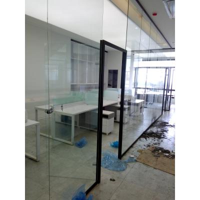 پارتیشن آلومینیوم تک جداره تمام شیشه