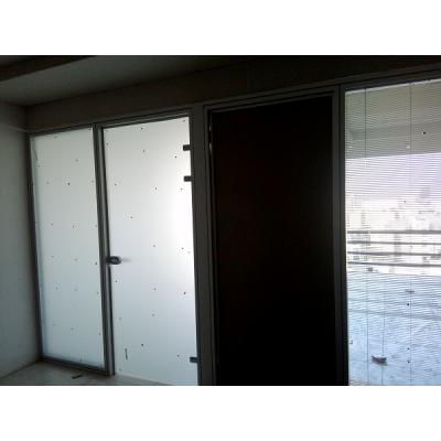 پارتیشن آلومینیوم دو جداره تمام شیشه بیمارستان کیانپارس اهواز