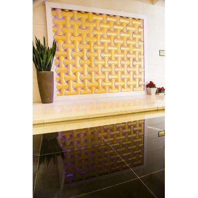 دیوارپوش سه بعدی اسپیلاین پروژه هتل ازادی