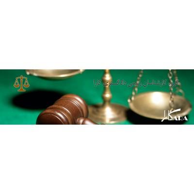تعیین علت خسارت توسط کارشناس رسمی دادگستری